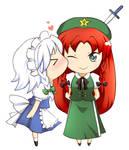 Meiling and Sakuya
