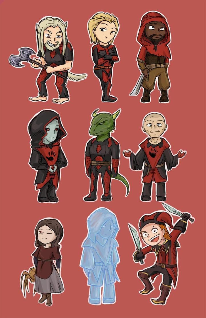 TES 5: Dark Brotherhood by keterok