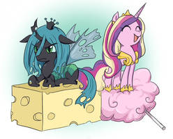MLP: Cheese and Cotton candy by keterok
