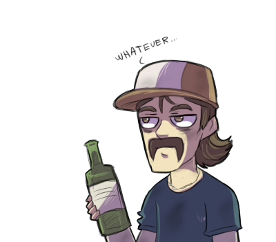 WD: drunk Kenny by keterok