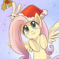 Christmas Fluttershy for Inosss