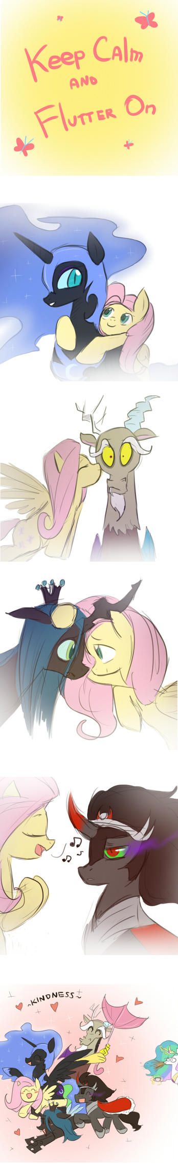 MLP: Keep Calm and Flutter On by keterok