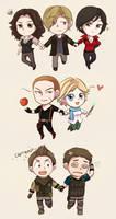 Resident Evil 6 chibis