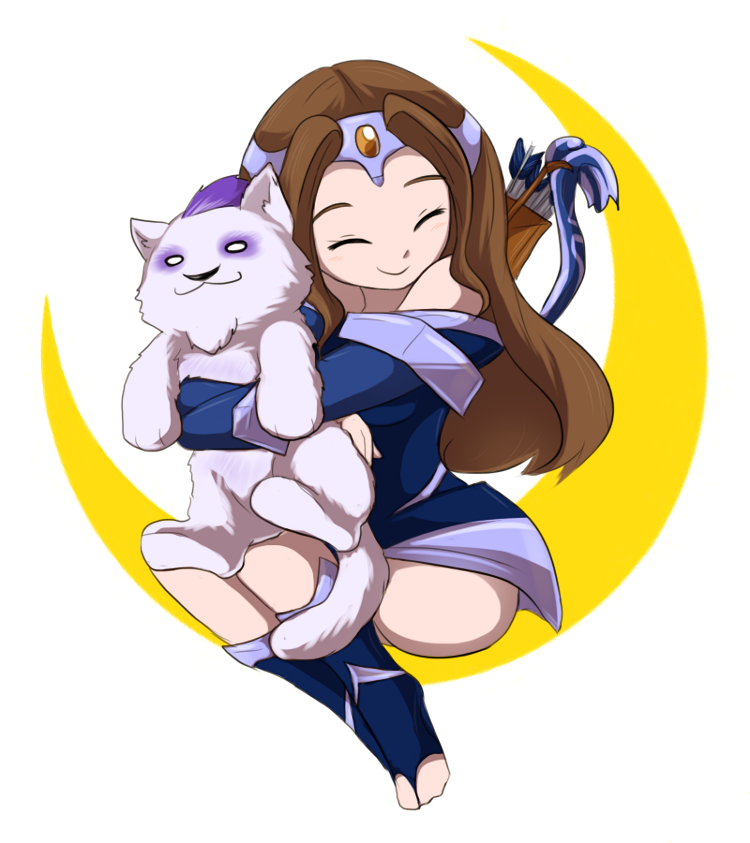 princess of the moon by keterok on deviantart