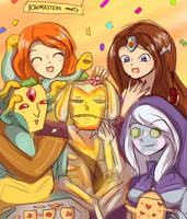 Bowmasters party by keterok