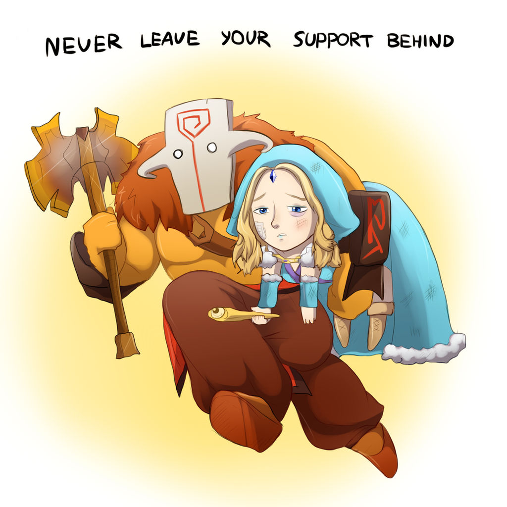 Never leave!