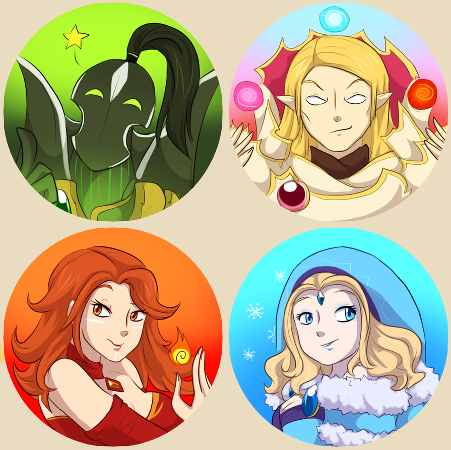 Dota 2 buttons - magic by keterok