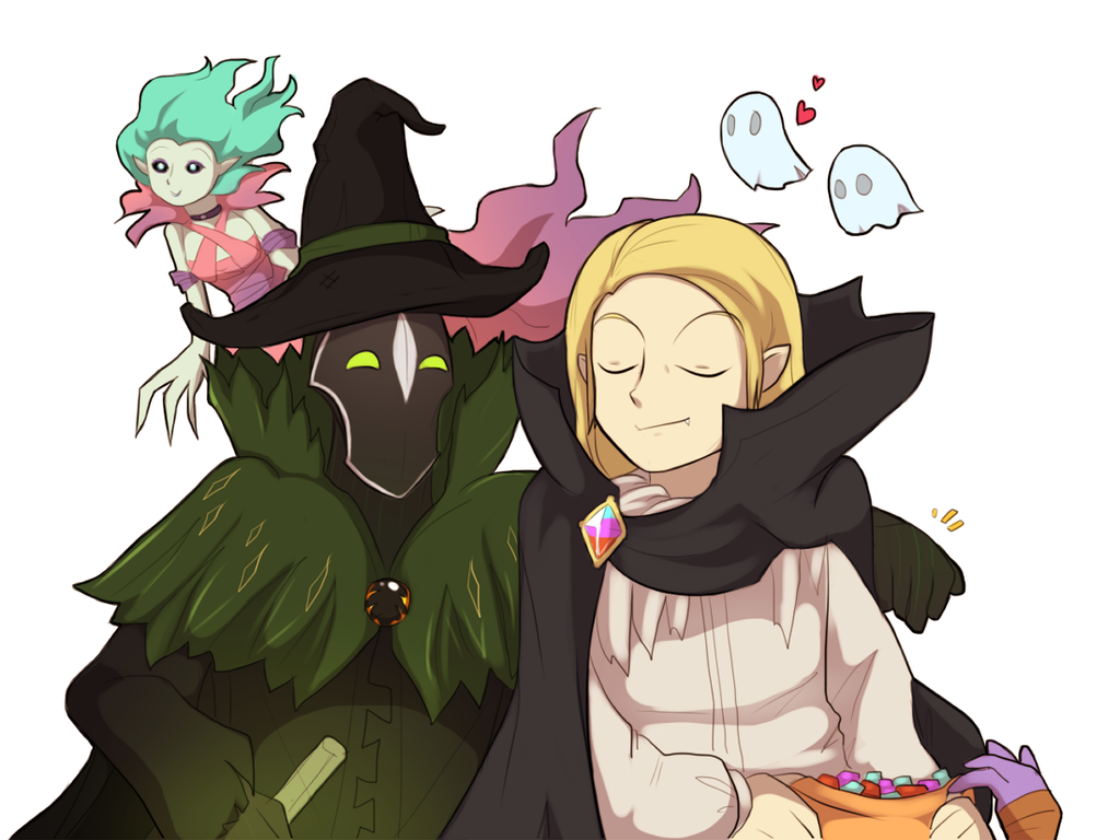 Halloween by keterok