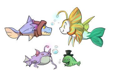 Oh hai fish! by keterok
