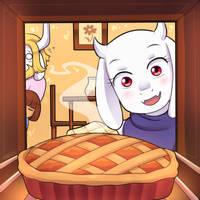 Undertale - Pie by keterok