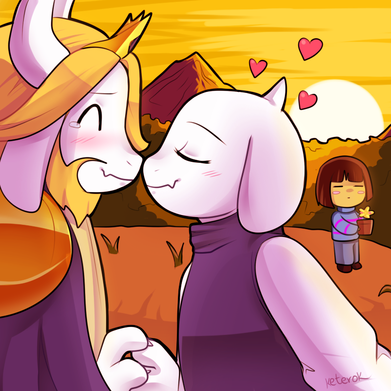 Undertale - together again by keterok