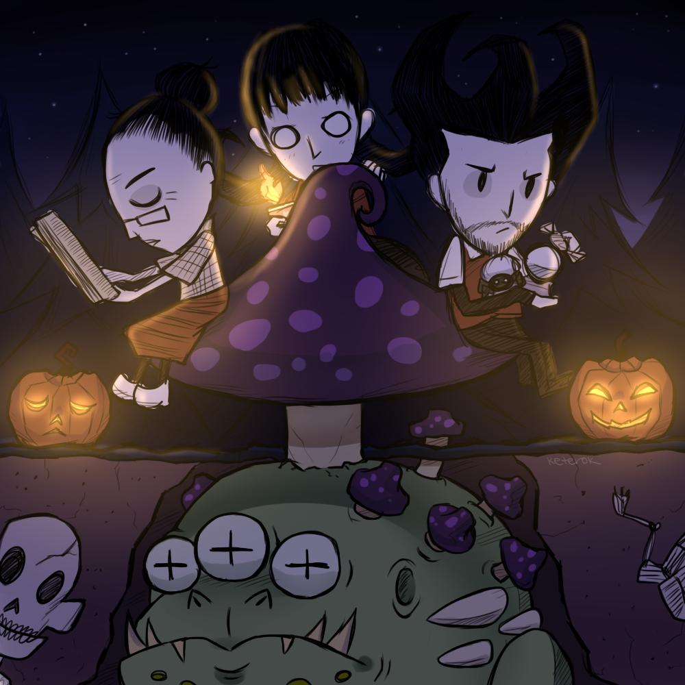 Halloween 2016 - Mushroom by keterok