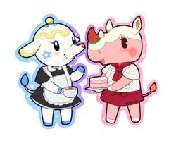 Animal Crossing - Tea and Cake