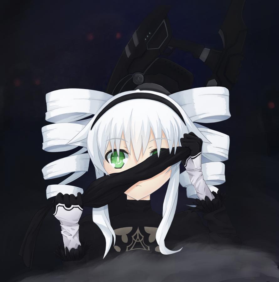 023-Uni as Battle Sister [Hyperdimension Neptunia] by Killerkirb