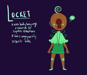 Locket (new character) by NoContextWhatsoever