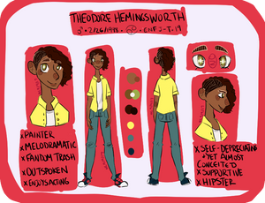 Theodore Ref (OC) by NoContextWhatsoever