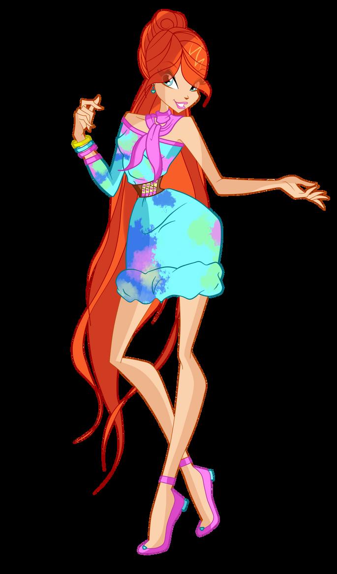 Winx club bloom dress