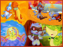 Mystery Dungeon | Forever together by Kyupus