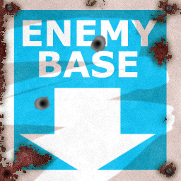 'Enemy Base' Teleporter Sign by TheSlyder