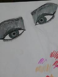 Eye practice by Draconic-Artist