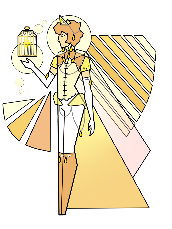 Court of diamonds deviantart for Yellow diamond mural