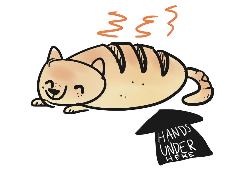 Bread Cat by FoxTone