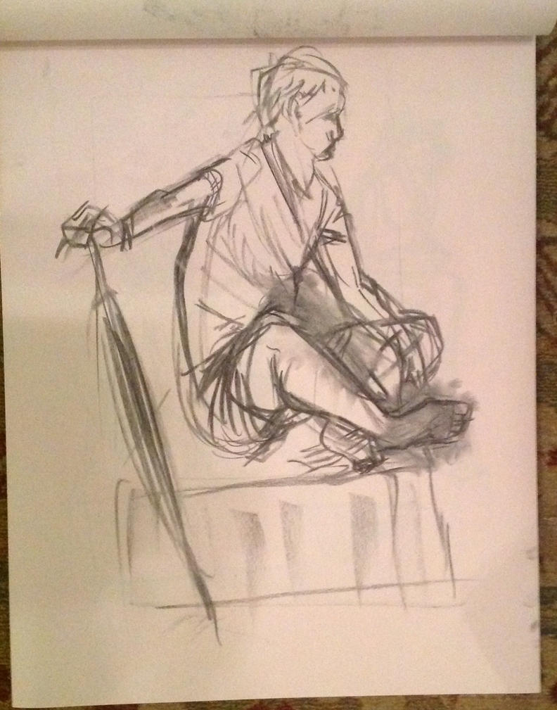 Figure Drawing by FoxTone