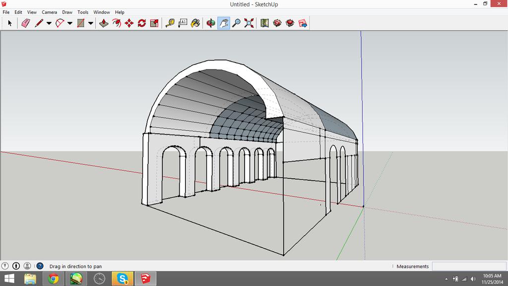 3D Model Train Station by FoxTone