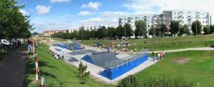 Panorama - Skatepark Lomza 1