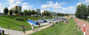 Panorama - Skatepark Lomza 2
