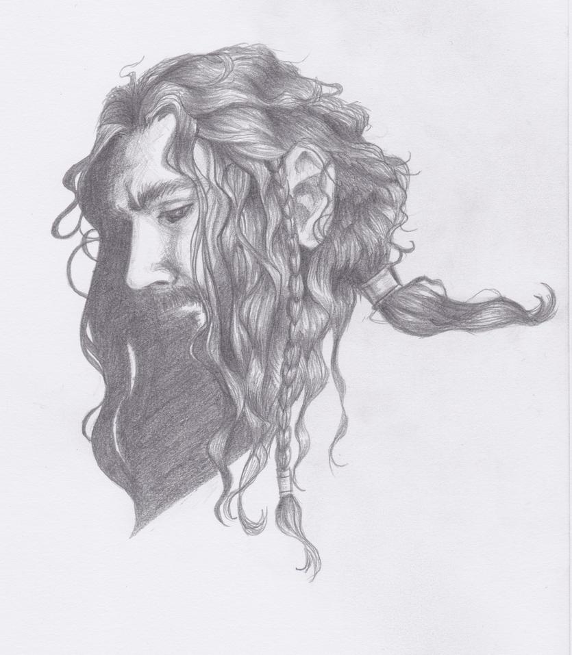 Thorin Wet Hair by Seraph5
