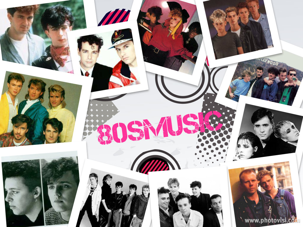 80s Music Logo by fgth84