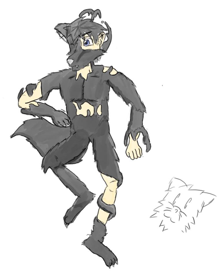 Art Trade : Wolf Costume TF By Masatoshi On DeviantArt