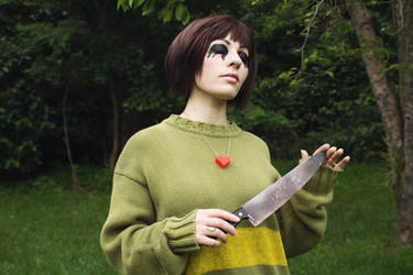 Evil Chara from Undertale Cosplay [3]
