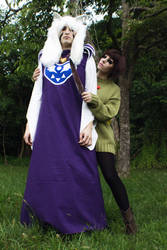 Evil Chara and Asriel from Undertale Cosplay [1]