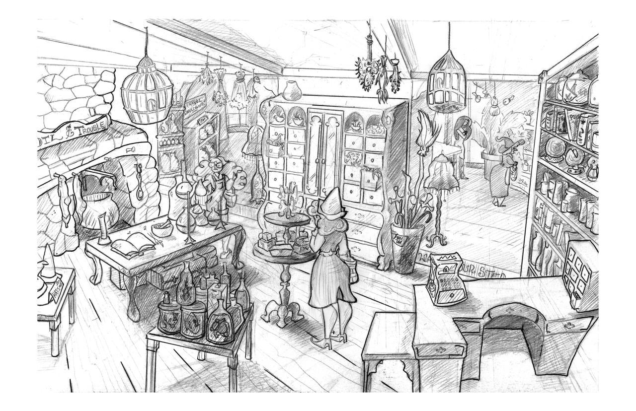 Interior Environment Design By Bonniewild On Deviantart