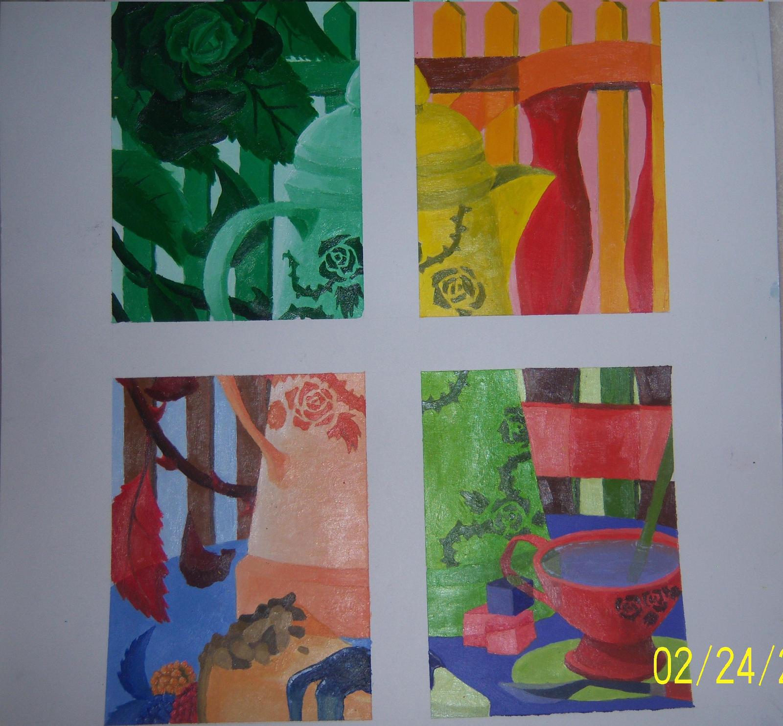 Analogous Color Scheme Painting Color Scheme Painting