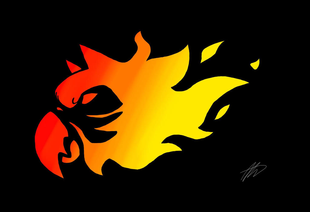 Flaming Gryphon macaw by xXWinterSlayerXx