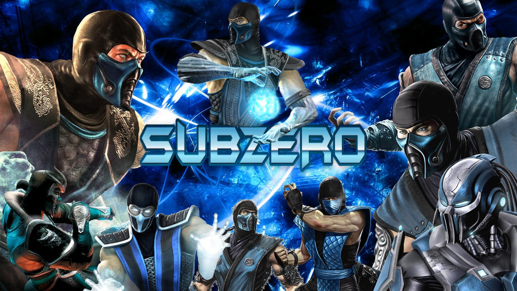 Sub Zero Wallpaper By EliteSaiyanWarrior