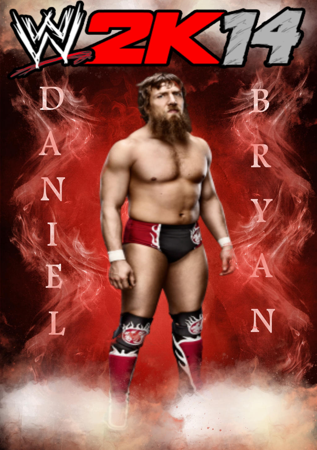 daniel bryan wwe 2k14 coverelitesaiyanwarrior on deviantart