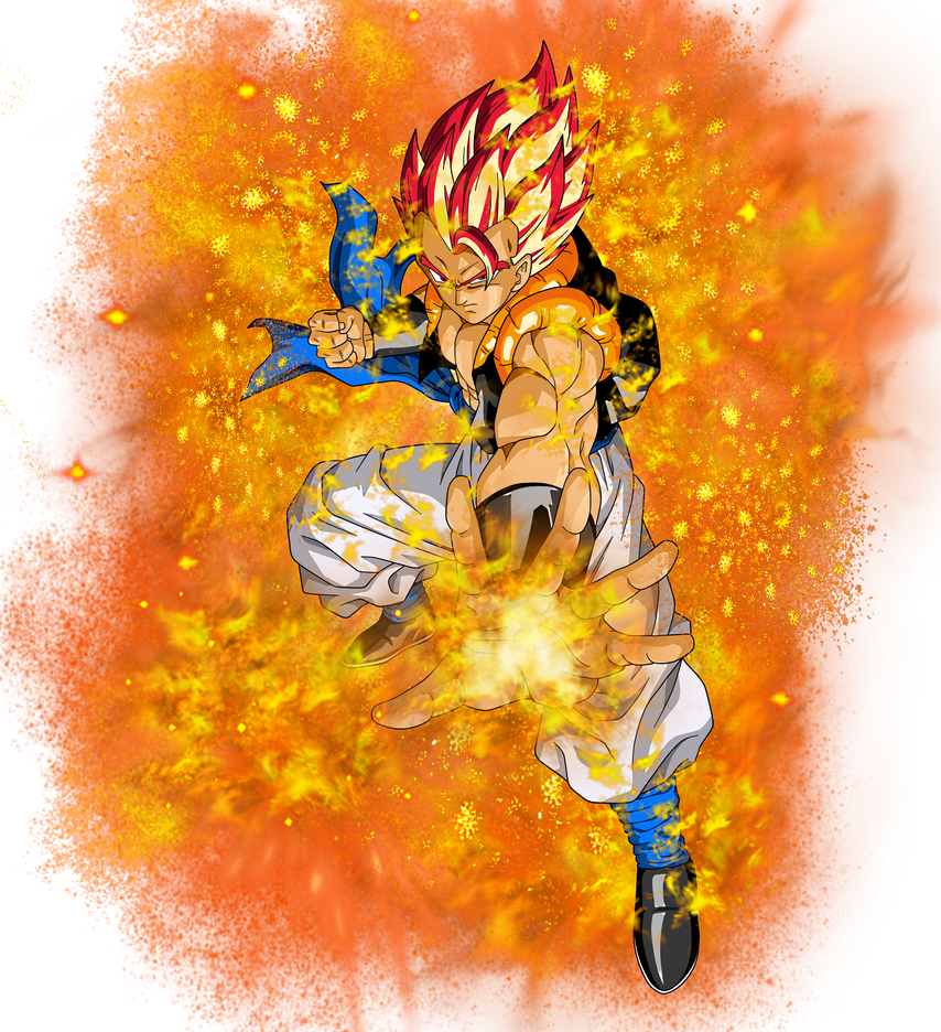 Super Saiyan God Gogeta by EliteSaiyanWarrior on DeviantArt