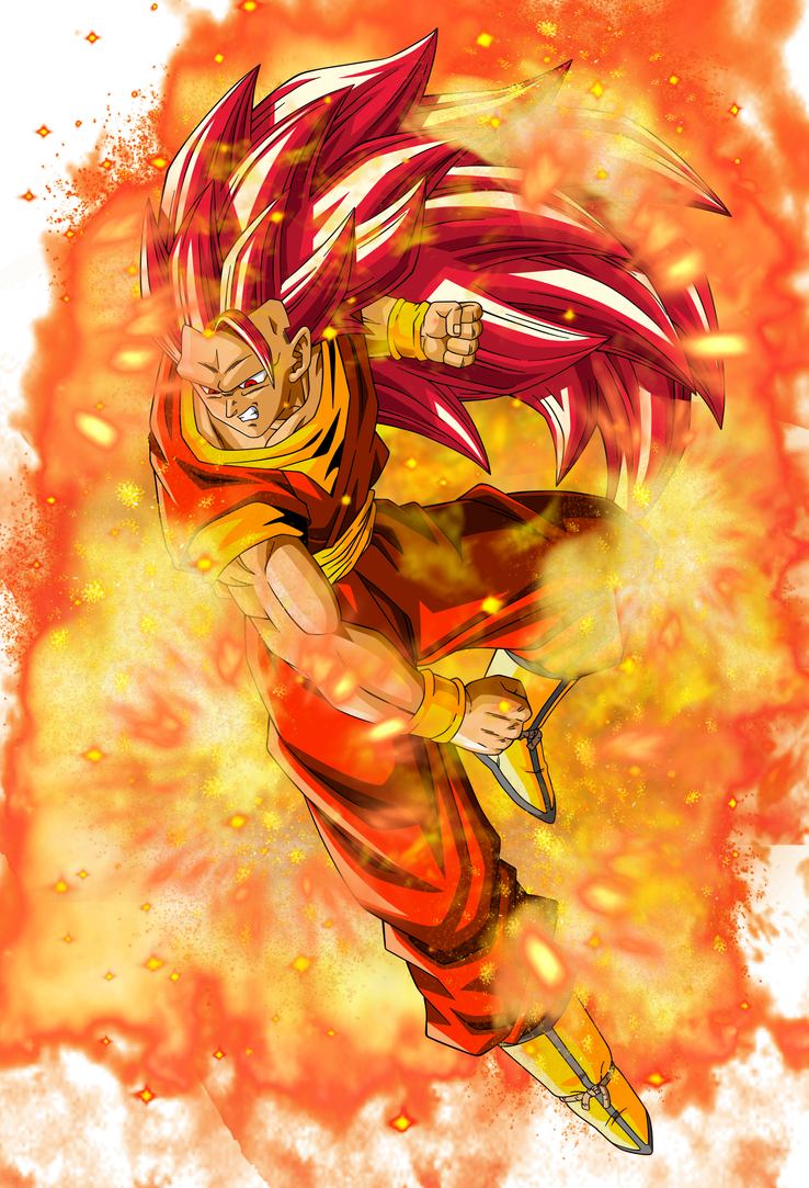 Super saiyan god 3 goku by elitesaiyanwarrior on deviantart - Sangoku super sayen 6 ...