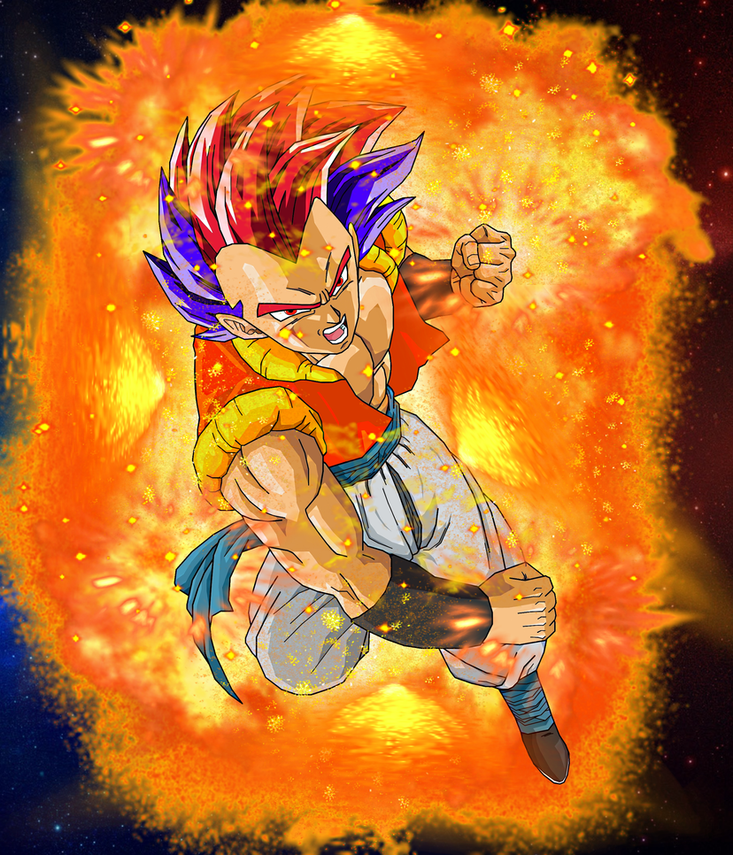 Super Saiyan God Gotenks (Teen) by EliteSaiyanWarrior on ...