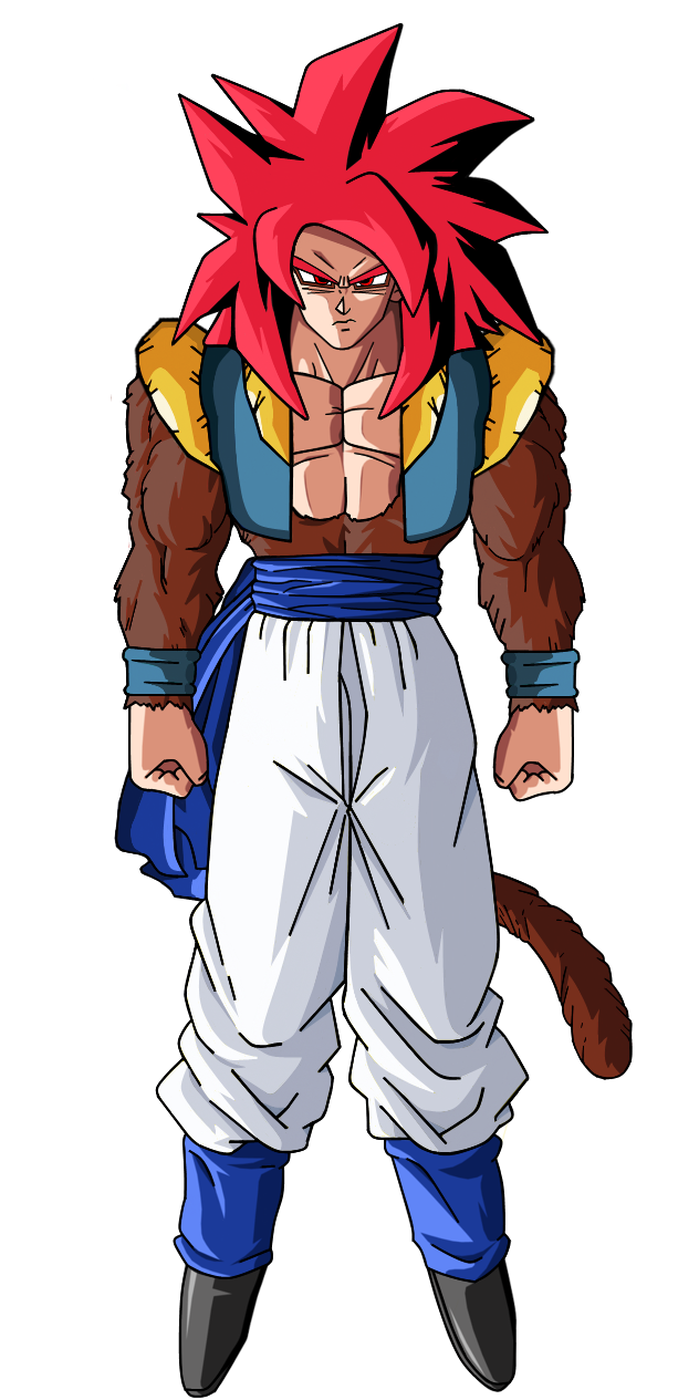 Super Saiyan 4 God Gogeta by EliteSaiyanWarrior