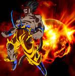 Goku Oozaru Explosion