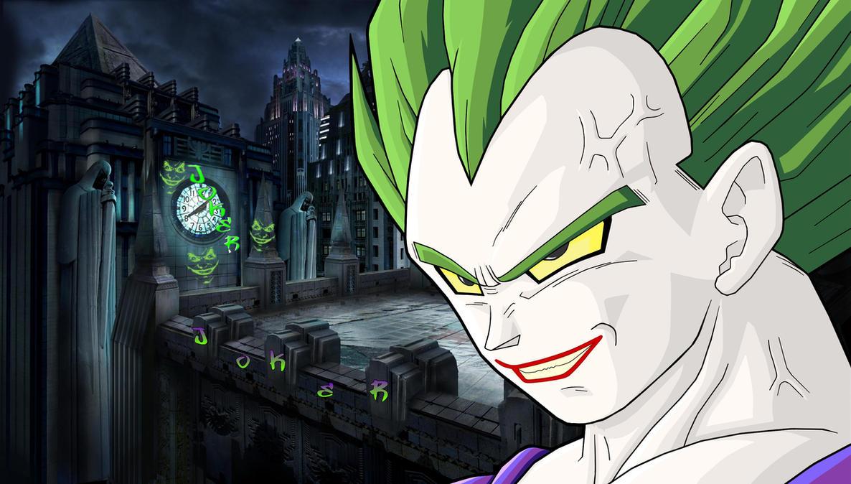 Vegeta(The Joker) by EliteSaiyanWarrior