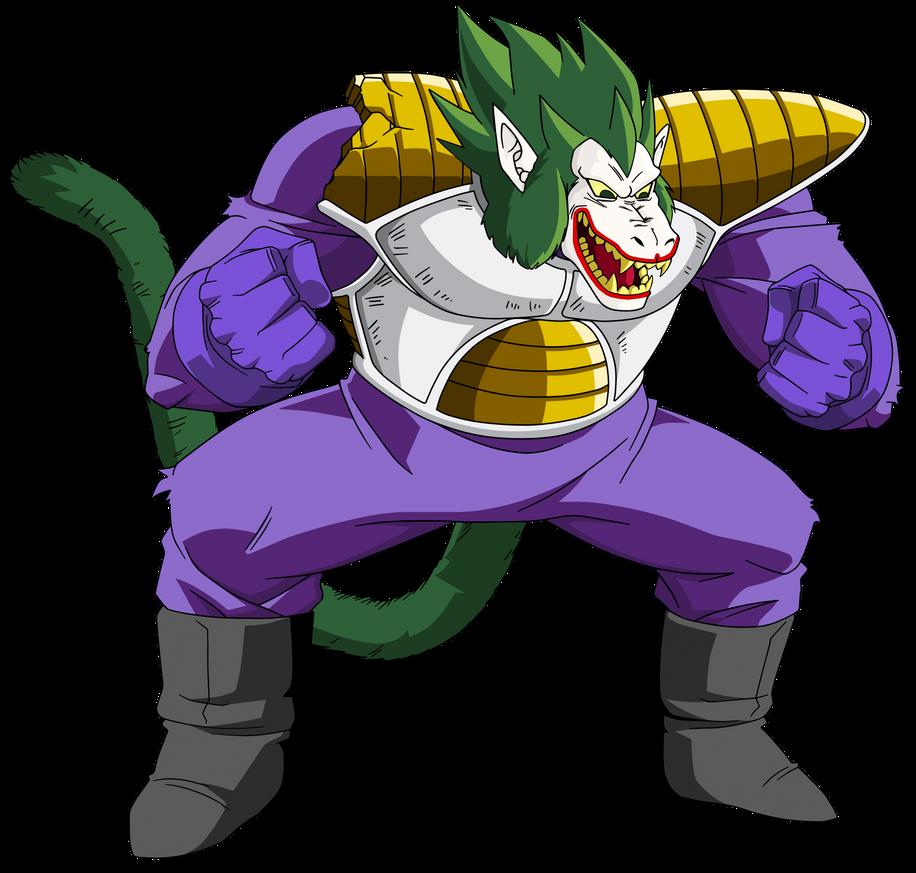 Oozaru Vegeta(The Joker) by EliteSaiyanWarrior