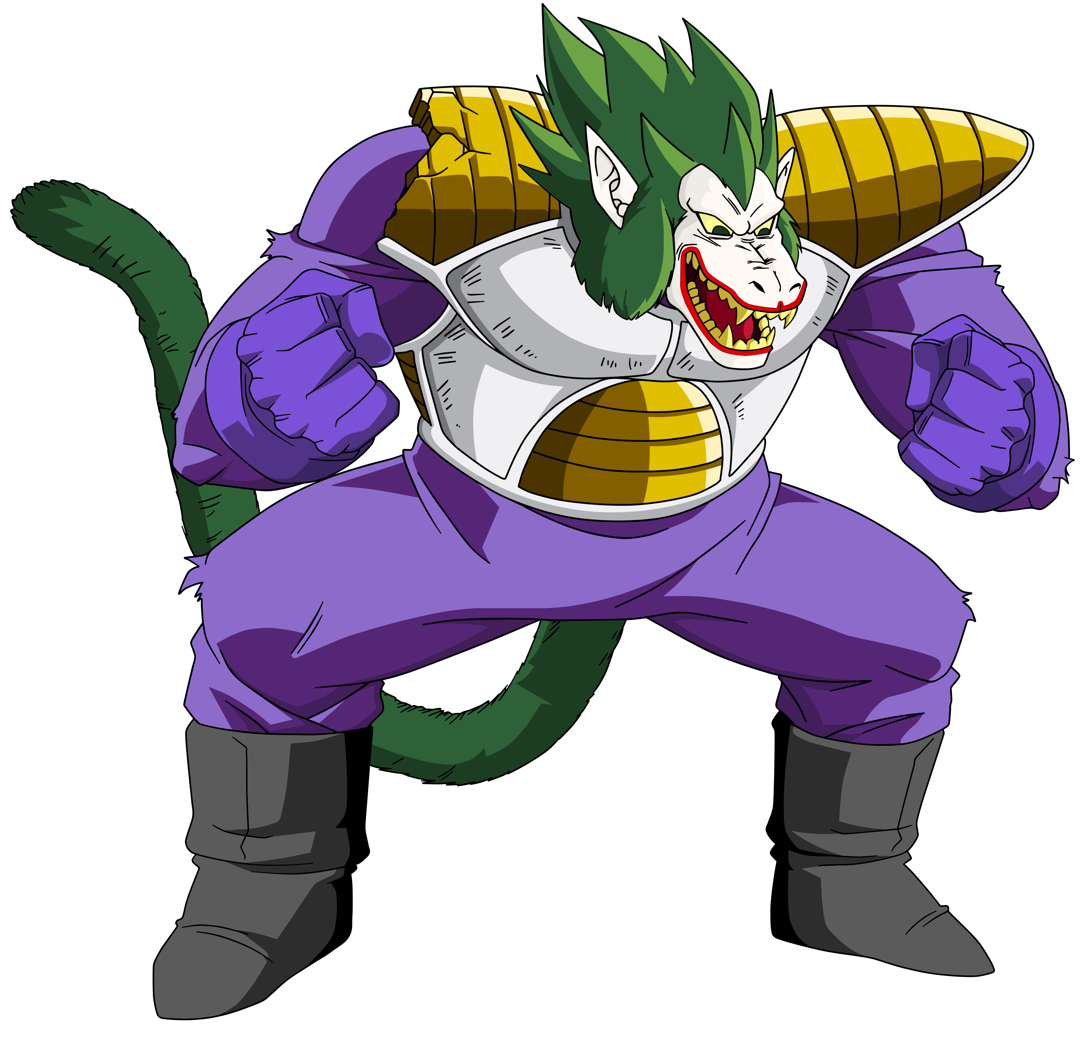 Oozaru Vegeta The Joker  by EliteSaiyanWarriorBaby Vegeta Oozaru