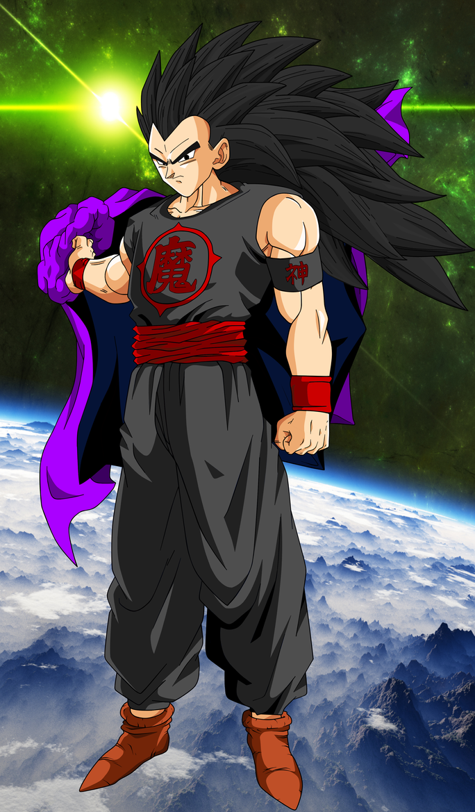 Saiyan W/Backround (Request) by EliteSaiyanWarrior