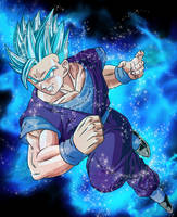 Gohan Super Saiyan Blue #3 by EliteSaiyanWarrior